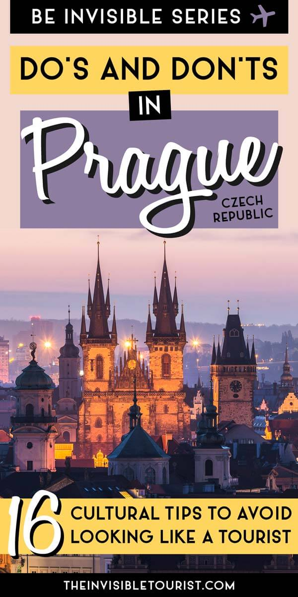 16 Essential Prague Travel Tips to NOT Look Like a Tourist