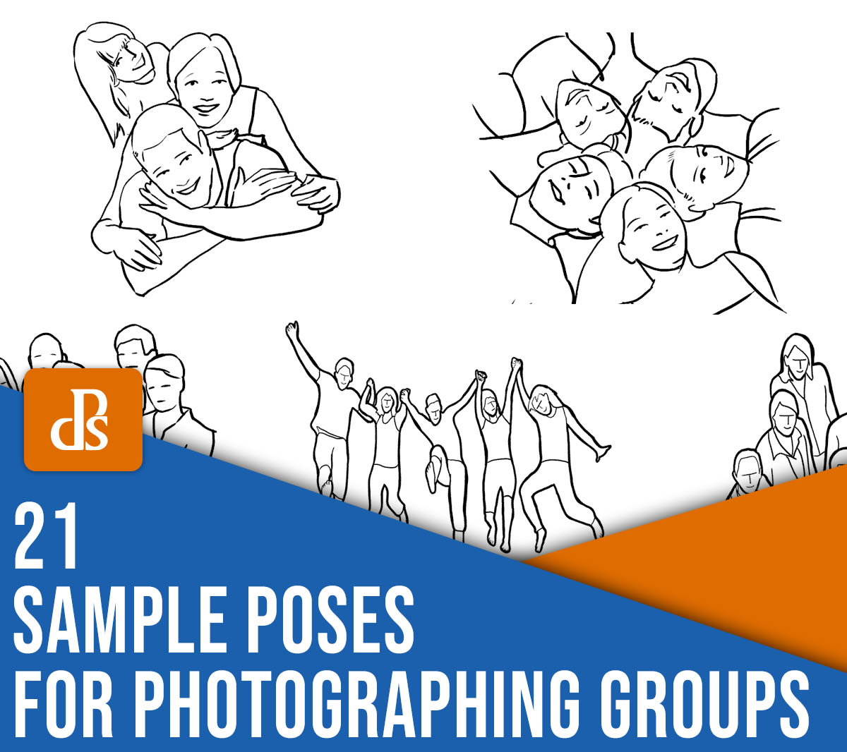 21 Sample Poses to Get You Started Photographing Groups of People