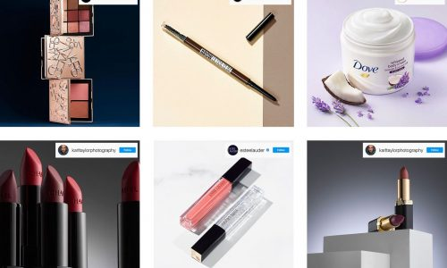 6 Cosmetic product photography ideas