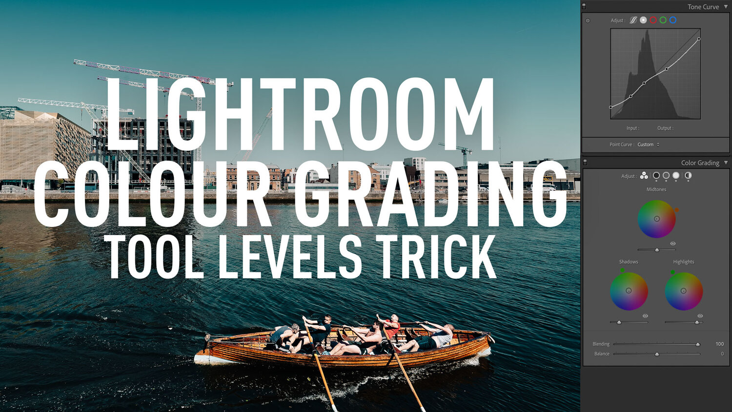 A Super Nerdy Lightroom Colour Grading Tool Trick to Solve a limitation of the Curve Tool !