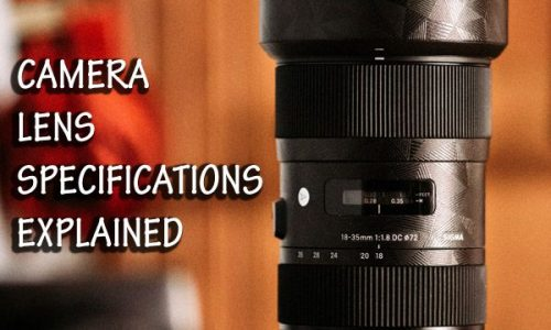 Camera Lens Specifications Explained: MM, VR, ED, HSM and the Rest