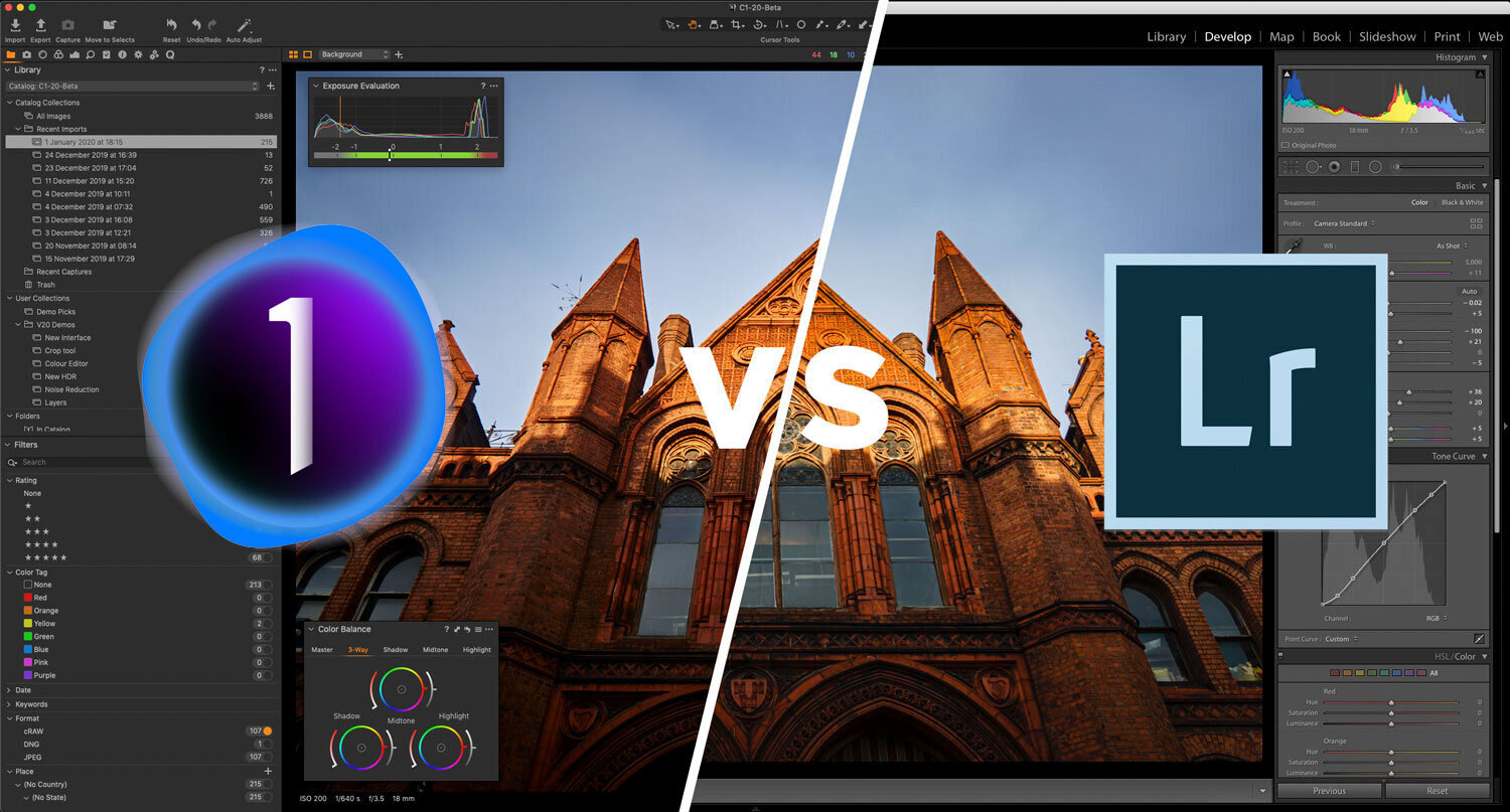 Capture One vs Lightroom from someone who uses both (Updated for 2021)