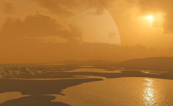 Crystalline Nitriles Occur on Surface of Titan, New Research Suggests