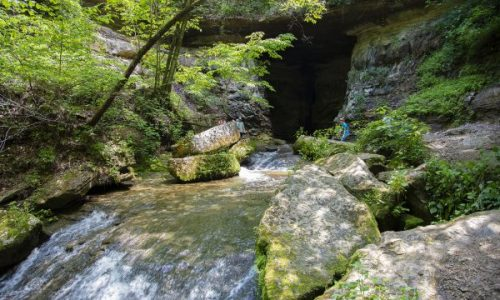 Donaldson Cave is a Magical Must-See Spot within Spring Mill State Park