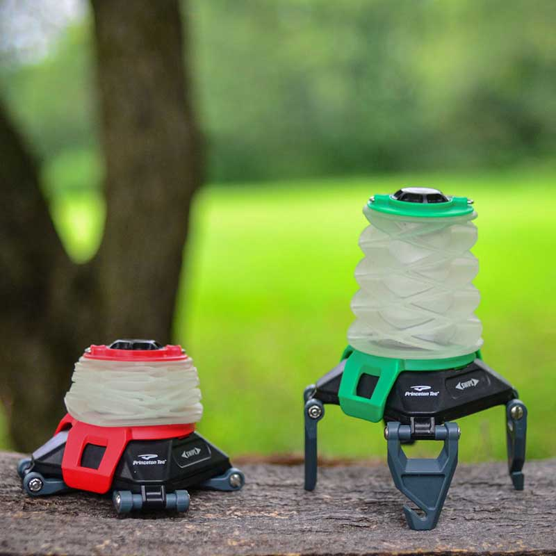 Here is the folding lantern that you'll want for your next camping adventure