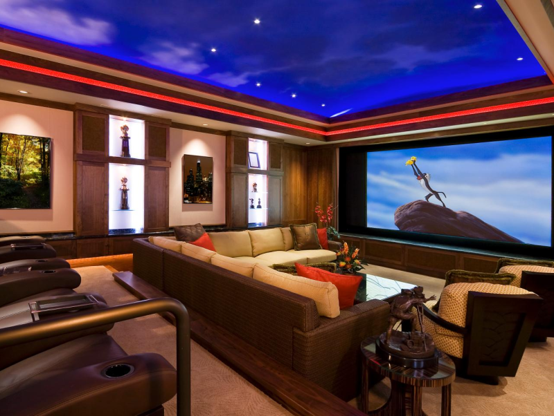 Here's How to Turn Your Place into a Movie Theatre Easily