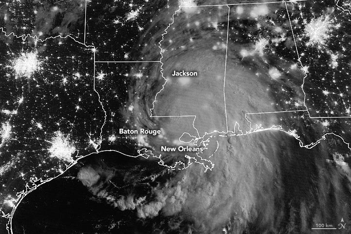 Hurricane Ida Batters Louisiana: 5th-Strongest Storm Ever To Make Landfall in the Continental U.S
