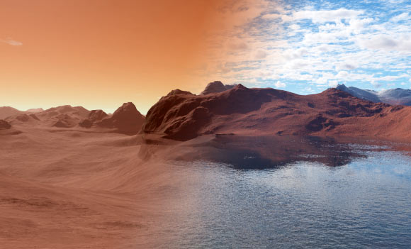 Regional Dust Storms Enhance Martian Water Loss to Space: Study
