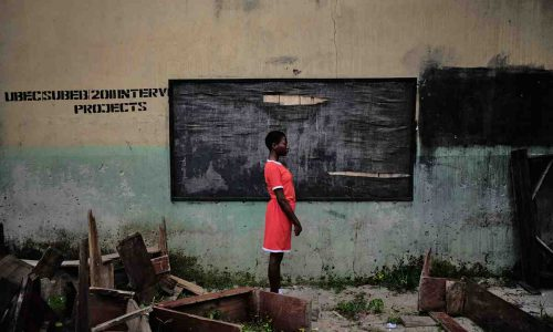 Sexual Assault Survivors in Nigeria Collaborate to Make Powerful Portraits