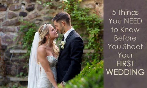 So….You Want to Break Into Weddings?