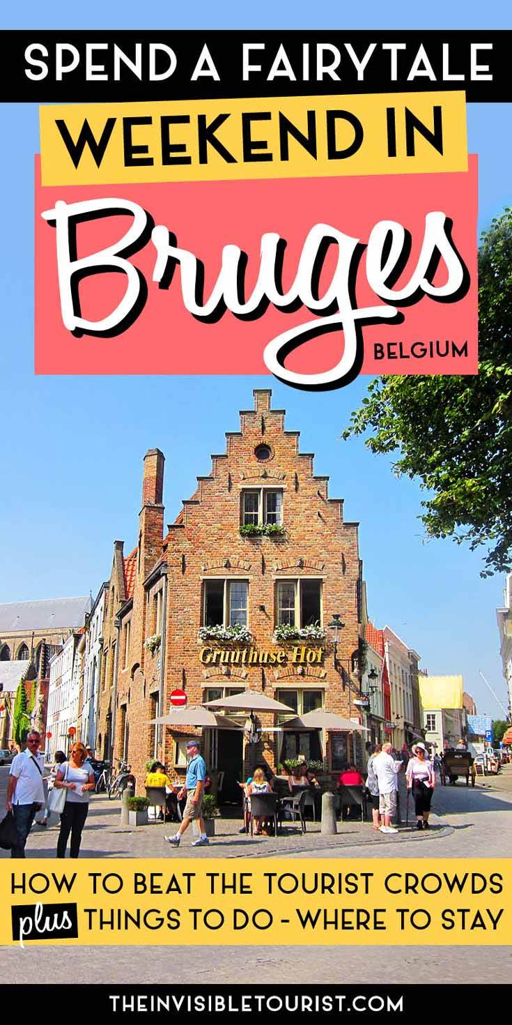 Spend a Weekend in Bruges With This Fairytale Itinerary