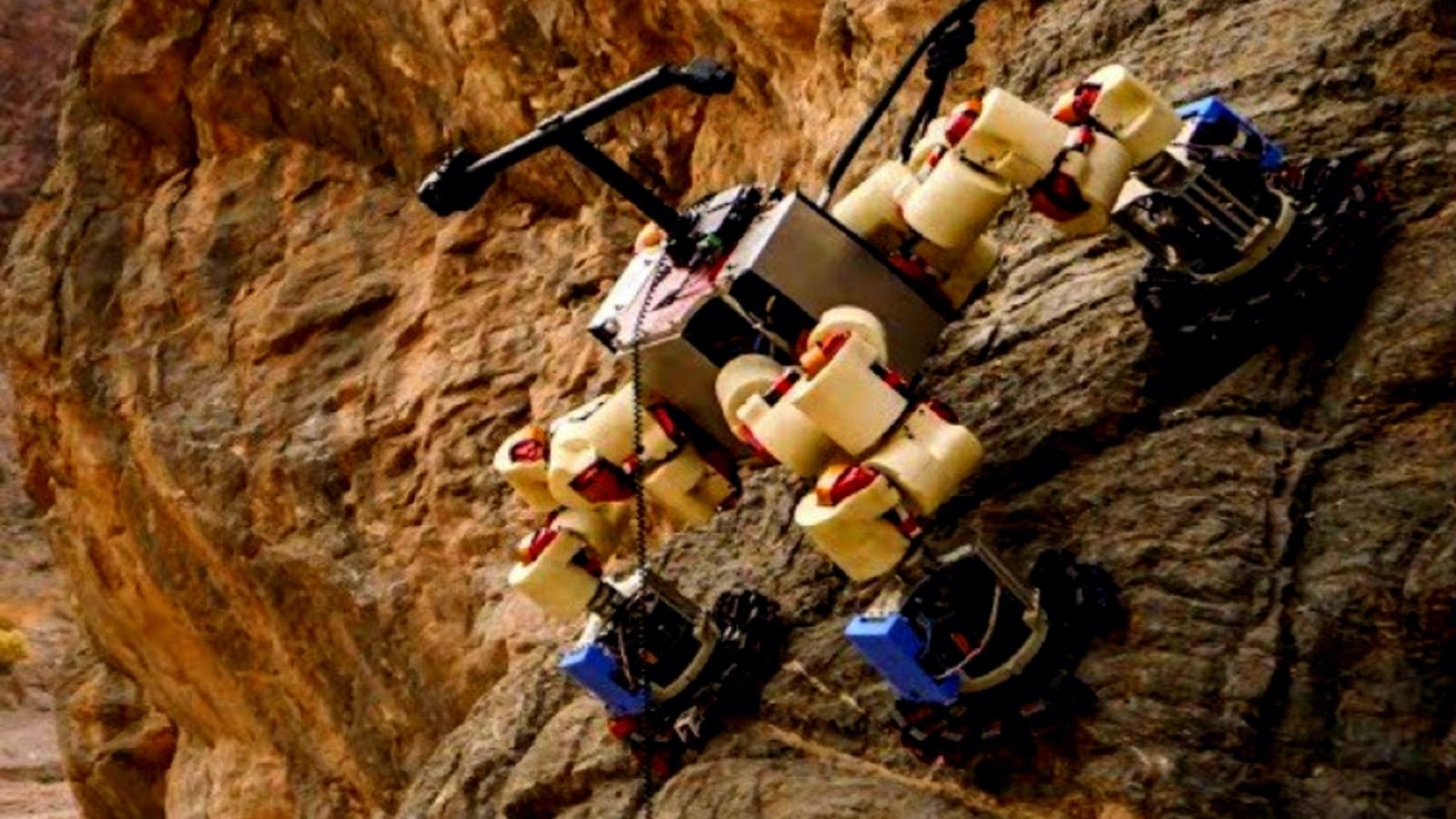 The first climbing robot for Mars