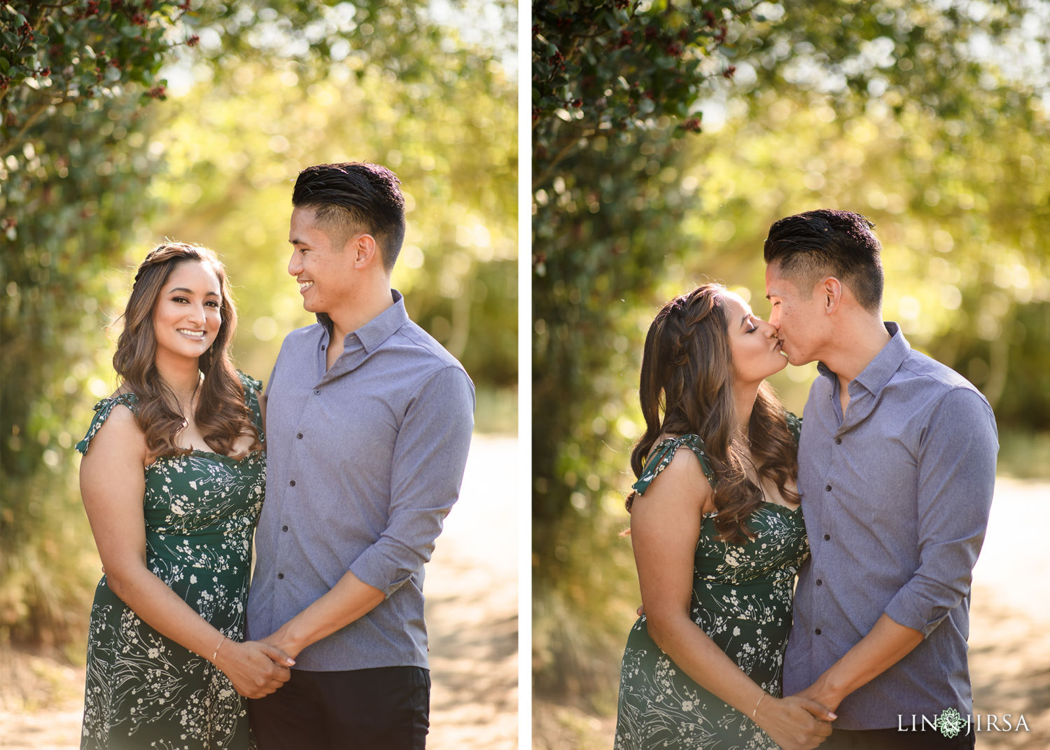 Top Of The World Engagement Session | Tannaz and Derrick