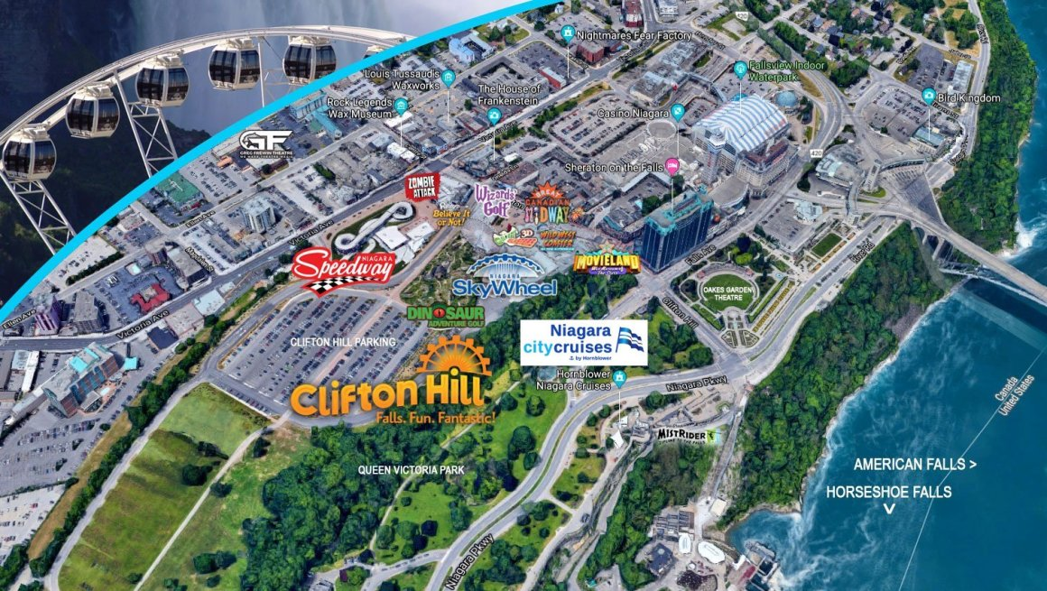 World Class Attractions Within A Block of Niagara Falls!