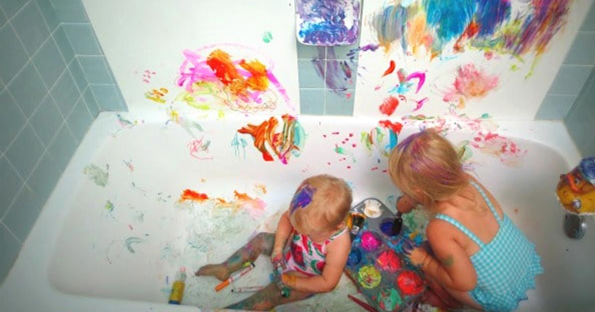 10 Messy Play Ideas and Tips to Keep it Clean