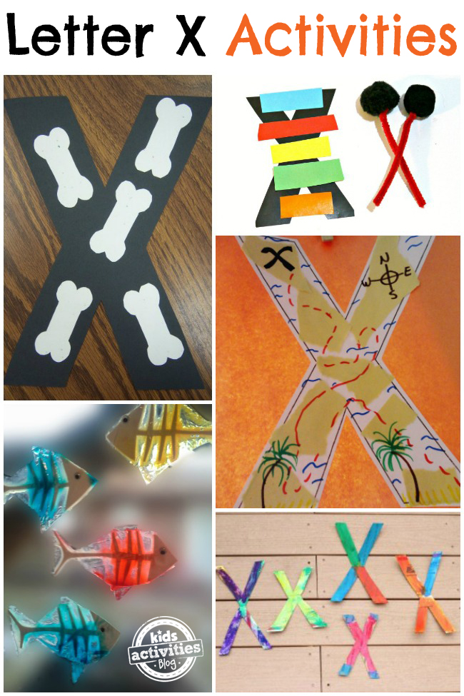 12 Letter X Crafts & Activities