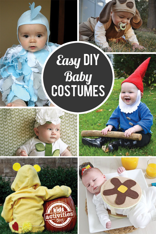 13 Easy & Cute DIY Halloween Costumes for Baby
