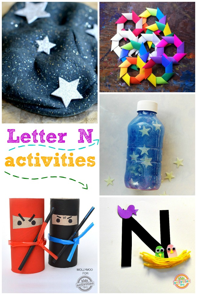 15 Nice Letter N Crafts & Activities