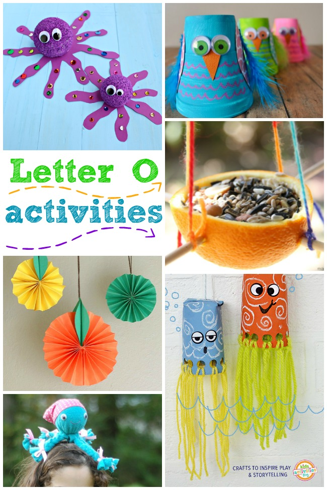 15 Outstanding Letter O Crafts & Activities