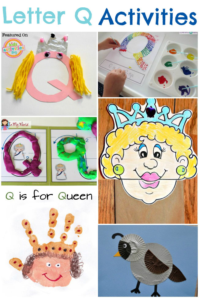 15 Quirky Letter Q Crafts & Activities