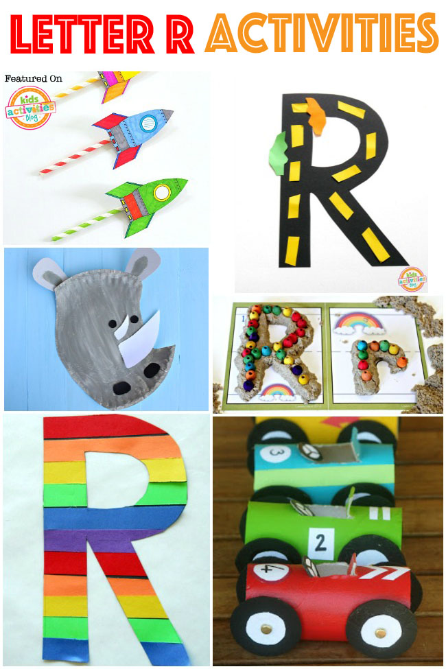 15 Radical Letter R Crafts & Activities