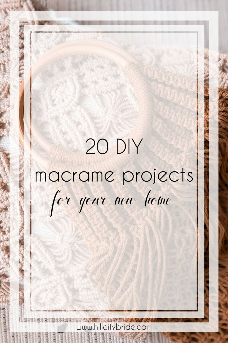 20 Adorable Macrame DIY Projects to Try for Your New Home