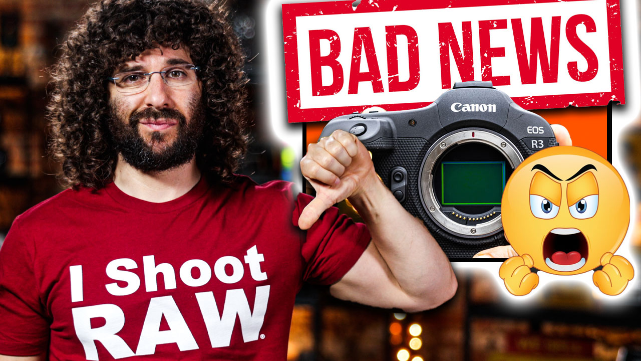 BAD NEWS for Canon…or is it GOOD?!