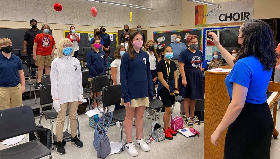 Case Study: Giving Voice to Middle School Choir Students