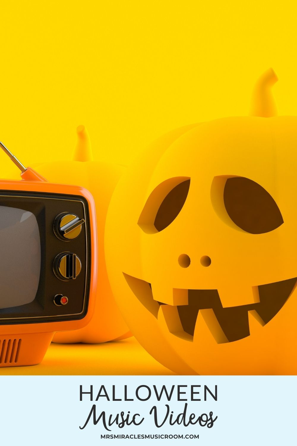 Halloween Videos for the Music Room