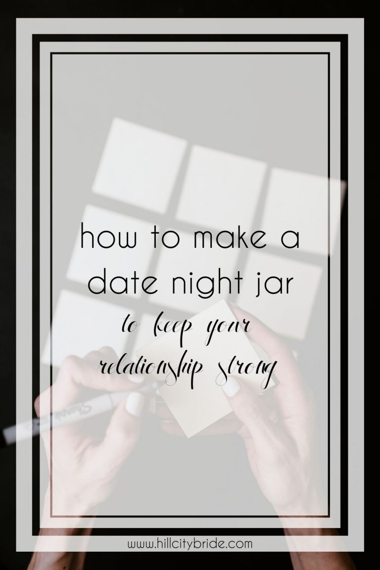 How to Make a Date Night Jar DIY to Keep Your Relationship Strong