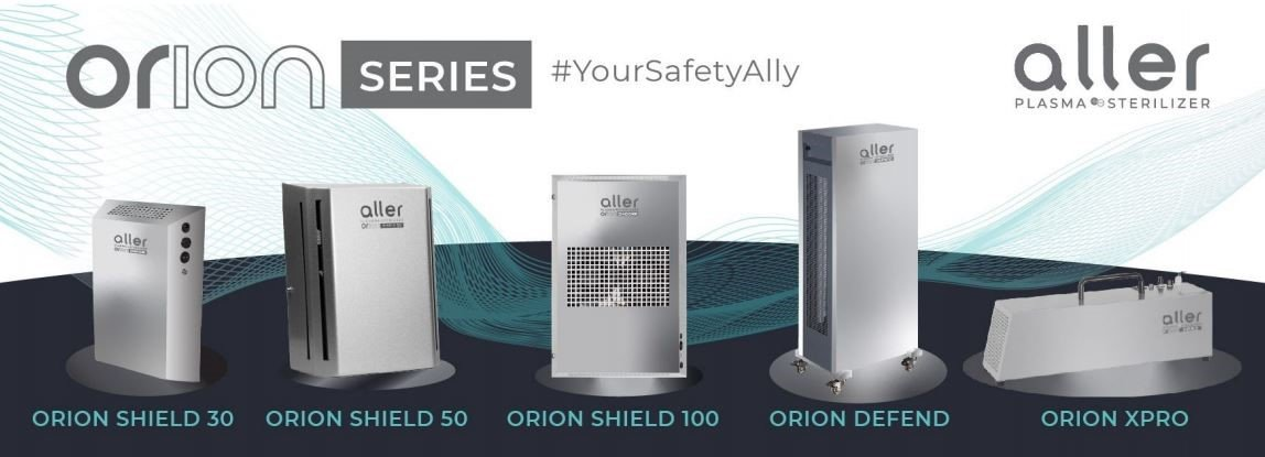 Keep your business quarantine-ready with the Aller Plasma Orion Series Sterilizer