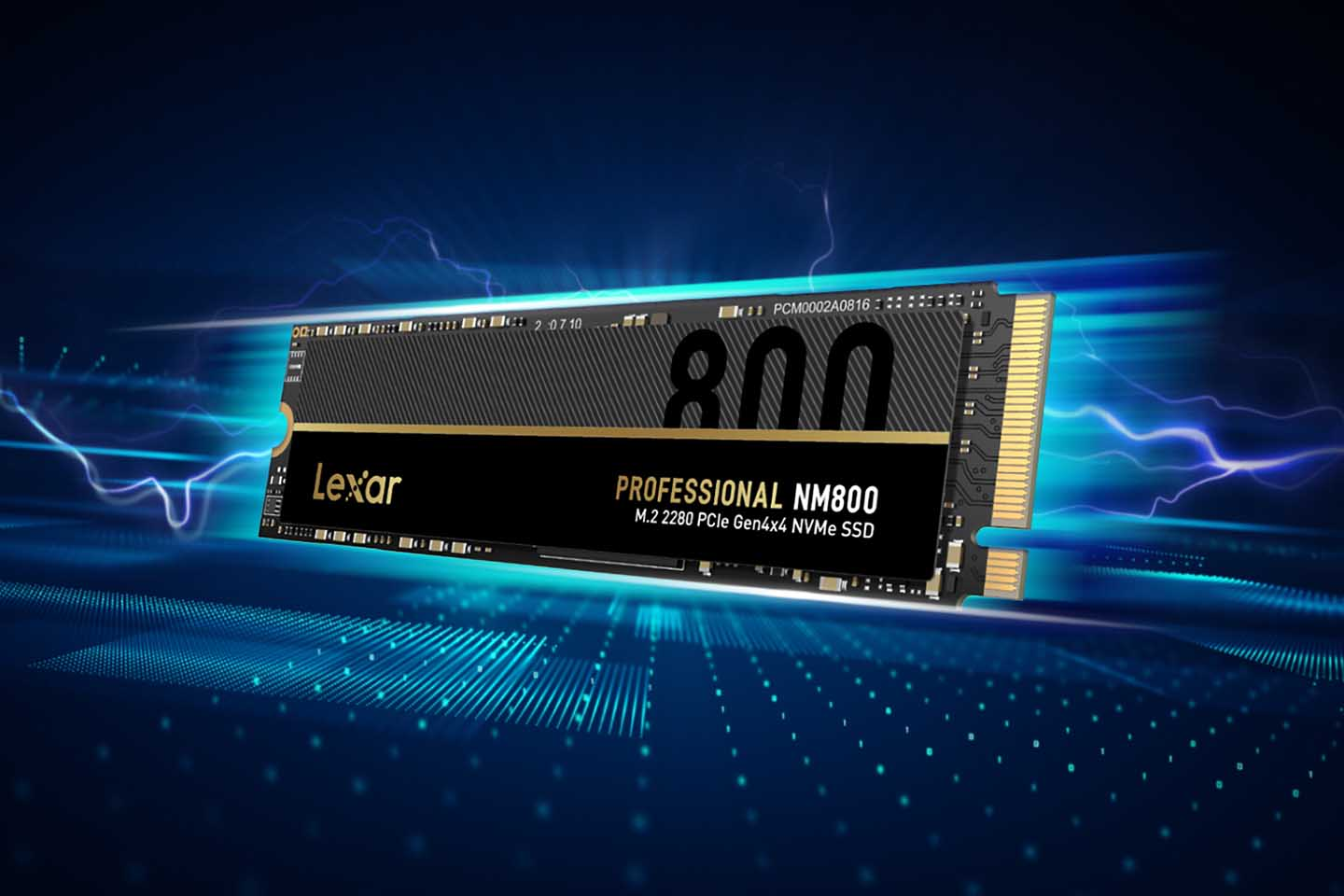 Lexar unveils Professional NM800 M.2 2280 PCIe Gen4x4 NVMe SSD with 7400MB/s read speed
