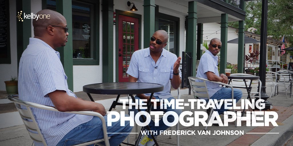 New KelbyOne Course: The Time-Traveling Photographer