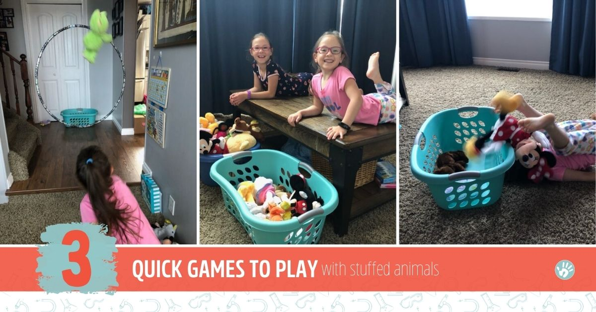 Quick Games to Play with Stuffed Animals