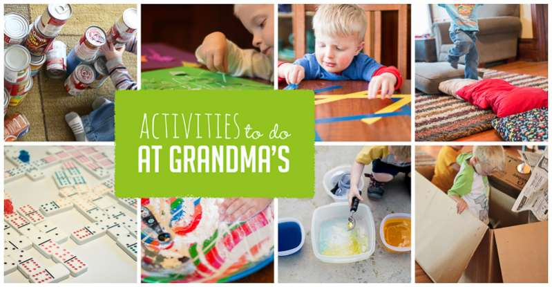 Simple Activities to Do at Grandma's