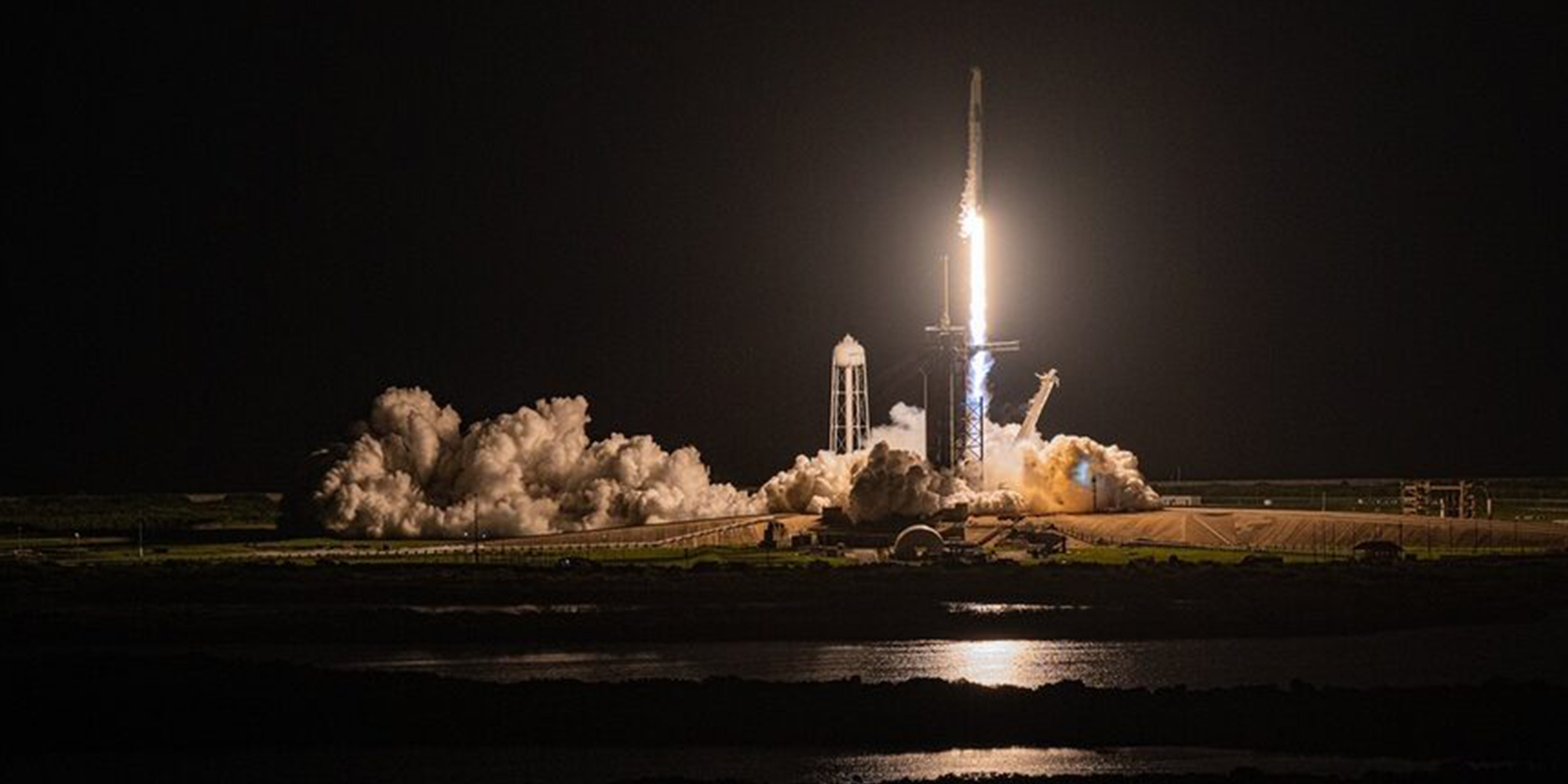 SpaceX launches its first all-civilian mission to space