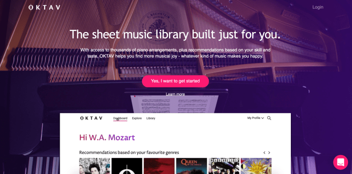 Stream Over 20,000 Pieces of Piano Sheet Music!