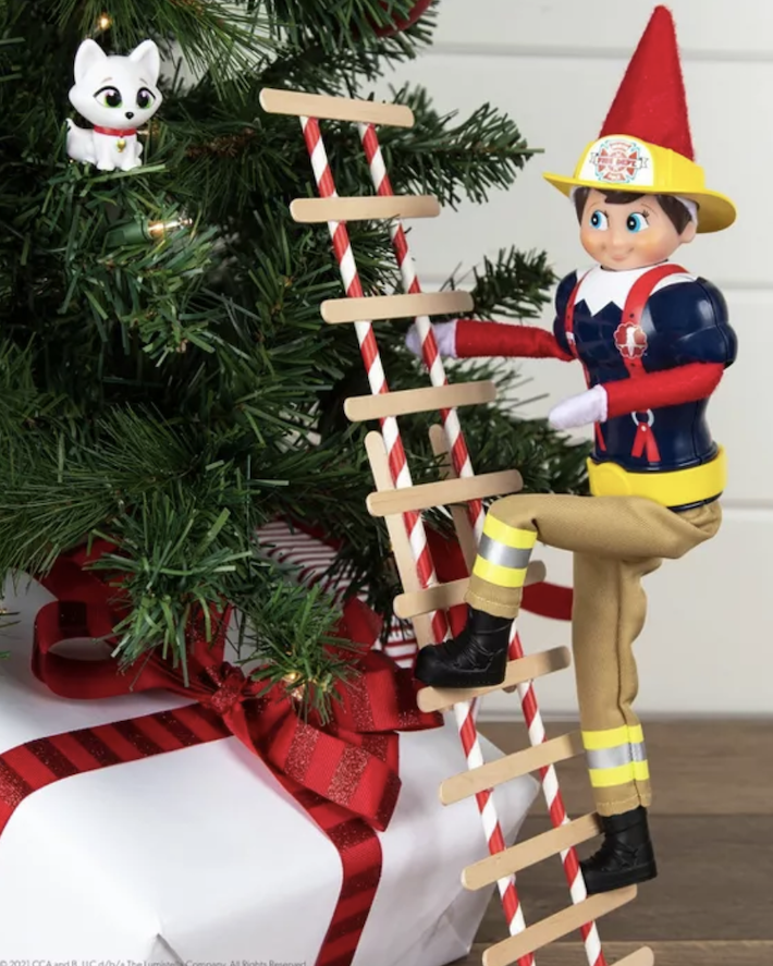 Target Is Selling A Firefighter Set For Your Elf On The Shelf And It Is Adorable