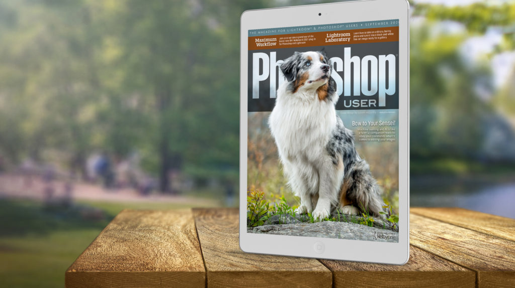 The September 2021 Issue of Photoshop User Is Now Available!