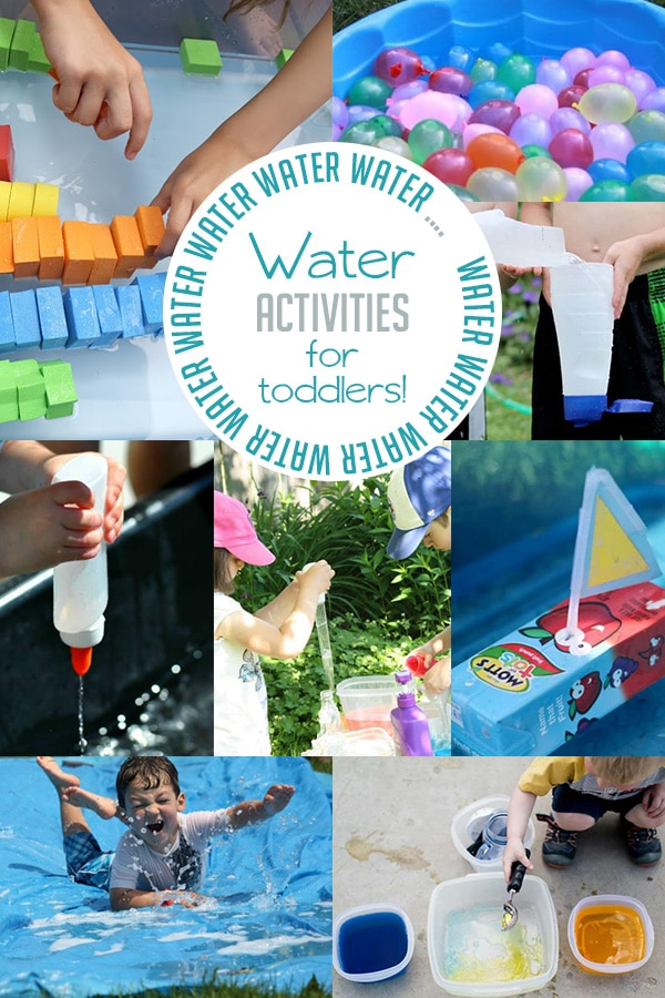 Tons of Water Activities for Toddlers | Fun and Simple