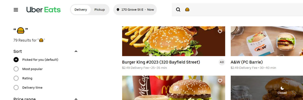 Uber Eats Will Now Let You Search For Food Using Emojis