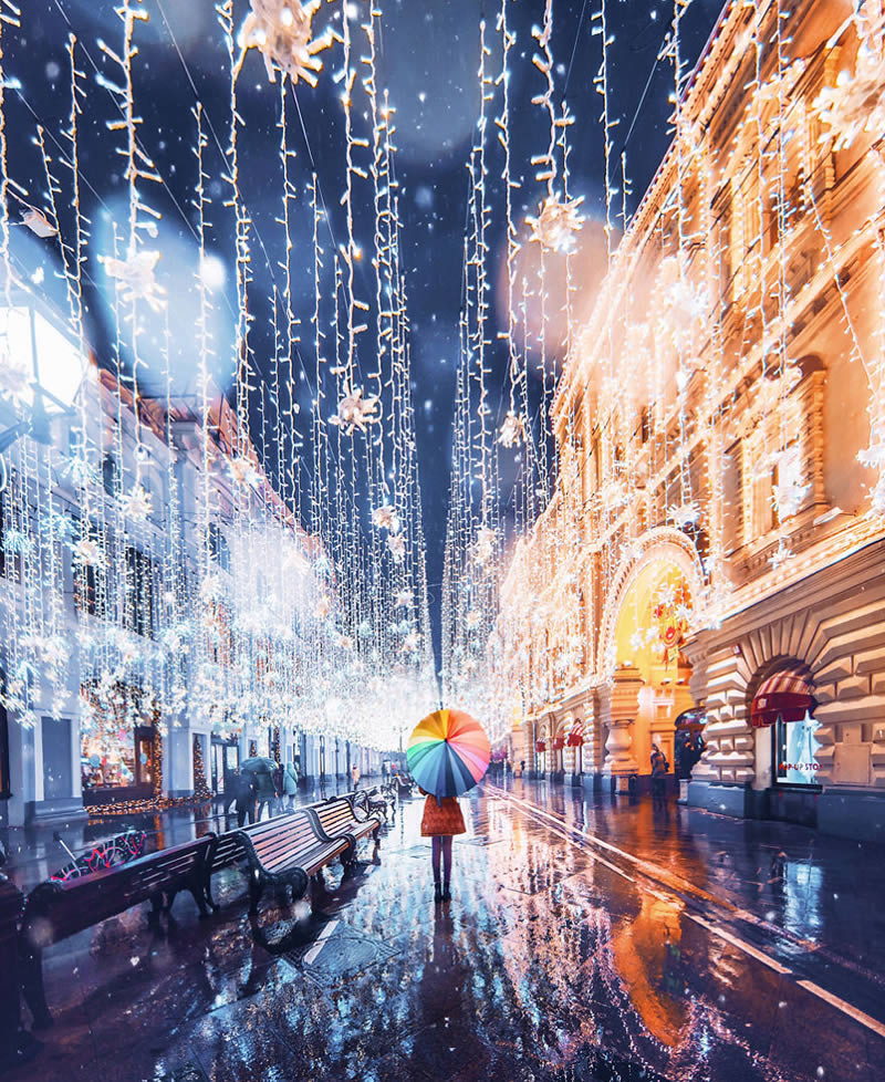 40 Sunning Photos Of Moscow's Fairytale-Like Beauty During Winter by Kristina Makeeva