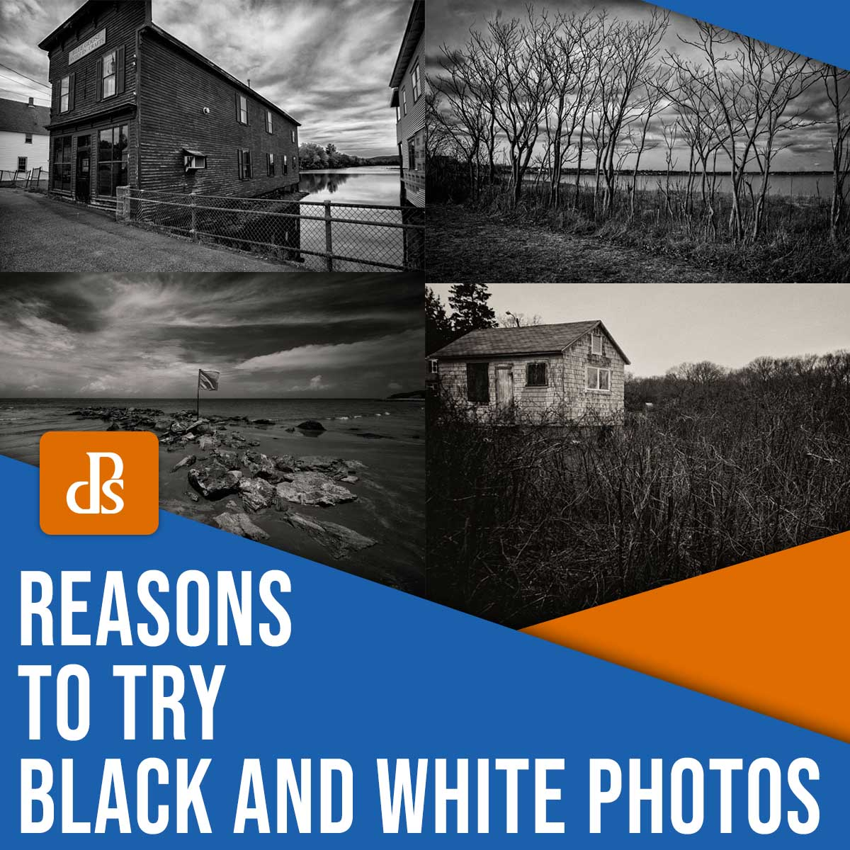 5 Reasons You Should Try Black and White Photography