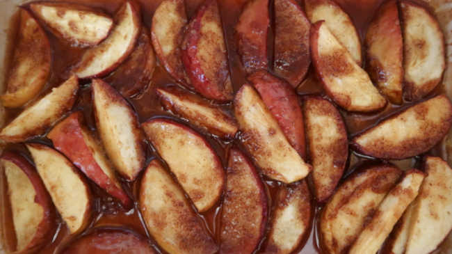 Baked Apple Slices Recipe