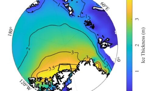How a Rhode Island-sized crack appeared in the thickest Arctic ice