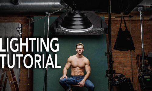 Lighting Handbook Tutorial – Breaking down a three light setup to show off the model's physique