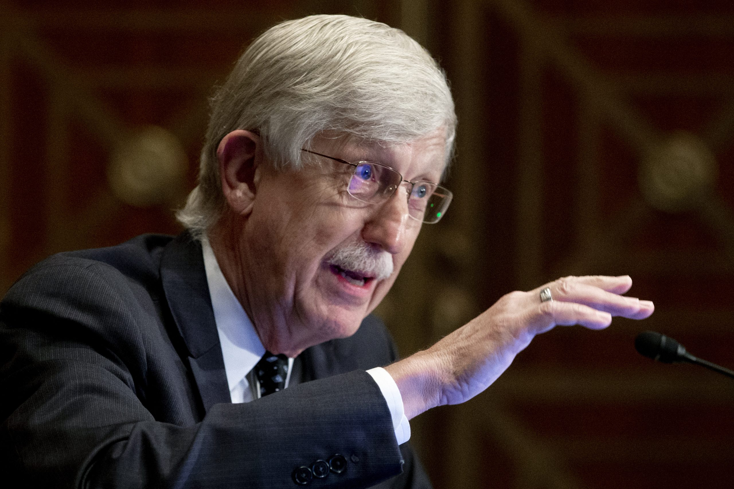 NIH Director Francis S. Collins to Step Down by End of Year
