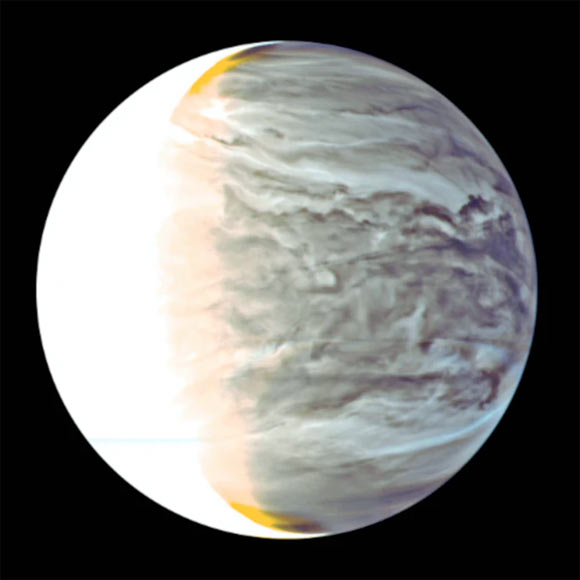Study: Sunlight Filtering through Venusian Clouds Could Support Earth-Like Photosynthesis