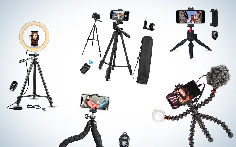The best phone tripods to make your content look professional
