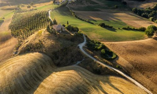 Val d'Orcia II by Tiago & Tania